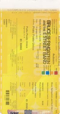 tickFirenze 10-6-2012