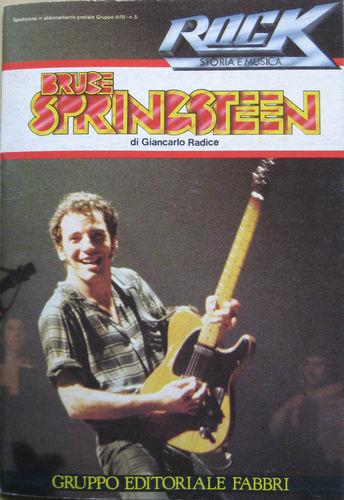 BRUCE SPRINGSTEEN - Rock Storia e Musica 5 1982 Fabbri