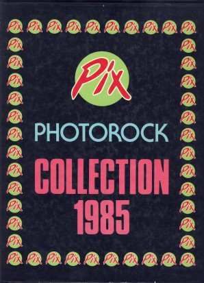 PIX PHOTOROCK COLLECTION 1985 - Fratelli Gallo Editori Roma