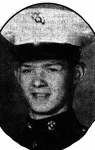 Bart Haynes, in uniforme di ufficiale dei US Marine (Nov 1966)