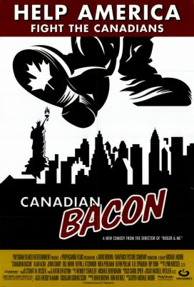 "23.""Canadian Bacon"" (Operazione Canadian Bacon) con Born in the U.S.A.Regia di Michael Moore, USA 1995"
