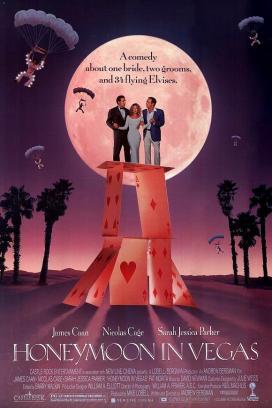 """""""Honeymoon in Vegas"""" (Mi gioco la moglie…a Las Vegas) con Viva Las VegasRegia di Andrew Bergman, USA 1992"""
