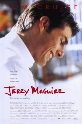 "25.""Jerry Maguire""  con Secret GardenRegia di Cameron Crowe, USA 1996"