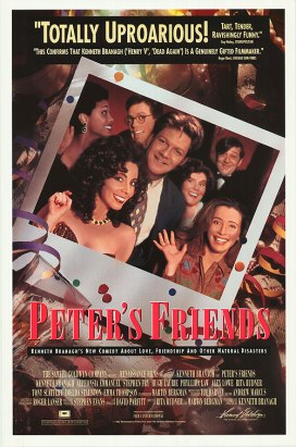 """Peter's Friends"" (Gli amici di Peter) con Hungry HeartRegia di Kenneth Branagh, Gran Bretagna 1992"