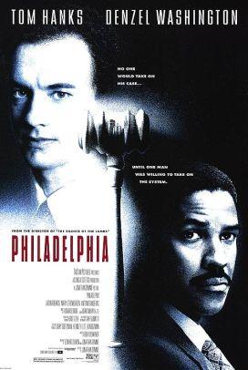 """""""Philadelphia"""" (Philadelphia) con Streets of Philadelphia – Premio Oscar 1994 come Migliore canzone e Golden Globe 1994Regia di Jonathan Demme, USA 1993"""