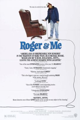 "11.""Roger and me"" (Roger e io) con My HometownRegia di Michael Moore, USA 1989"