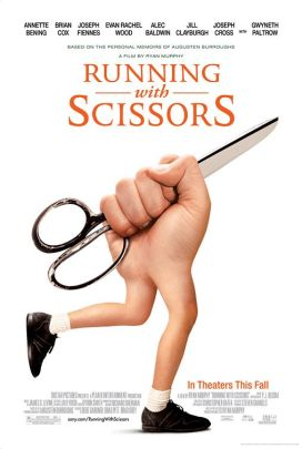 "54. ""Running with Scissors"" (Correndo con le forbici in mano) con Blinded by the LightRegia di Ryan Murphy, USA 2006"