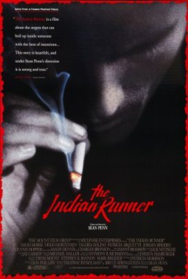 "15.""The Indian Runner"" (Lupo solitario). Trama ispirata a Highway Patrolman, dell'album Nebraska del 1982Regia di Sean Penn, USA 1991"