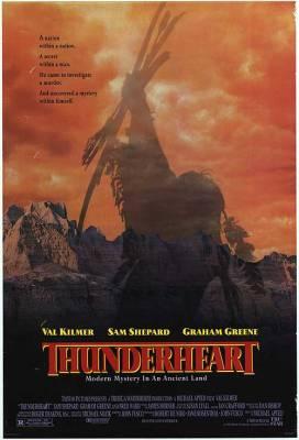 """""""Thunderheart"""" (Cuore di tuono) con BadlandsRegia di Michael Apted, USA 1992"""
