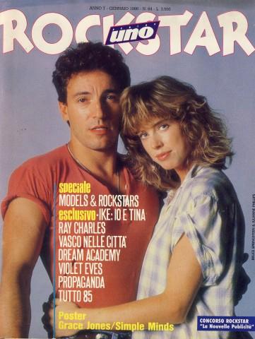 Rockstar n.64 Gennaio 1986