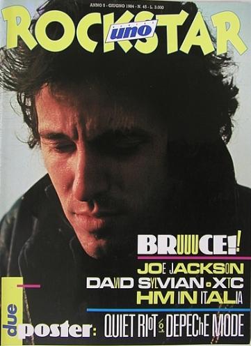 Rockstar n.5 Giugno 1984