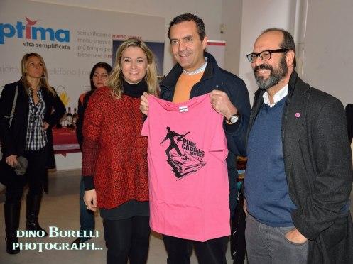 Il Sindaco con la Tshirt del PinkCadillacMusic