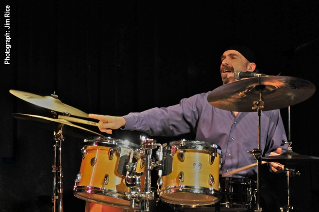 Session player Frank Pagano guests on percussion instruments for Blood Brothers