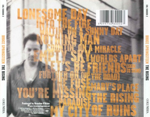 bruce springsteen - the rising (back)