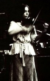 "Suki Lahav - violin on ""Jungleland"""