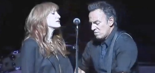 "Patti Scialfa e Bruce Springsteen al ""Stand Up For Heroes 2012″"