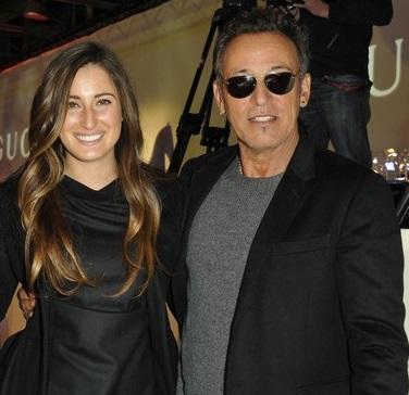 Bruce con la figlia Jessica