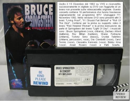 In Concert-MTV Plugged (VIDEO) vhs