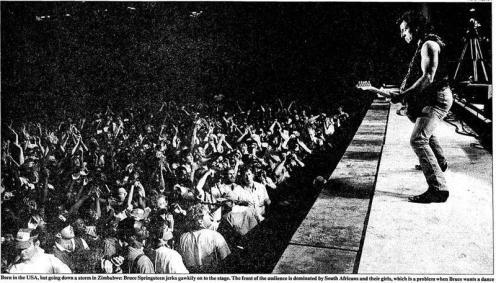 1988-10-07 - NATIONAL SPORTS STADIUM, HARARE, ZIMBABWE