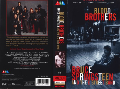 Blood Brothers VHS