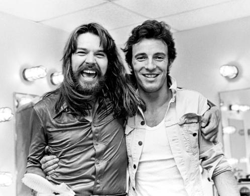 1 Settembre 1978, Bruce fa visita a Bob Seger presso il Pine Knob