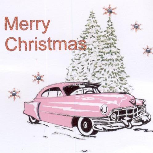Auguri Natale 2014 Pink Cadillac