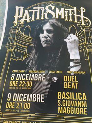patti smith napoli
