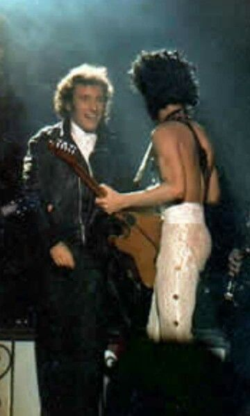Bruce onstage con Prince - 23-02-1985 - THE FORUM, INGLEWOOD, CA