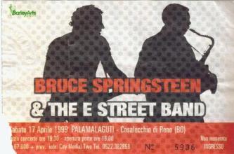 ticket bologna 17-04-99