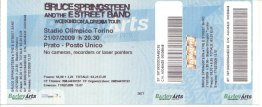 BRUCE SPRINGSTEEN Ticket (Torino)