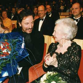 Springsteen and HRH Princess Lillian, Anders Anderson in back. (Photo: © Polar Music Prize)