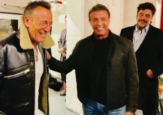 Sylvester Stallone and Benicio Del Toro
